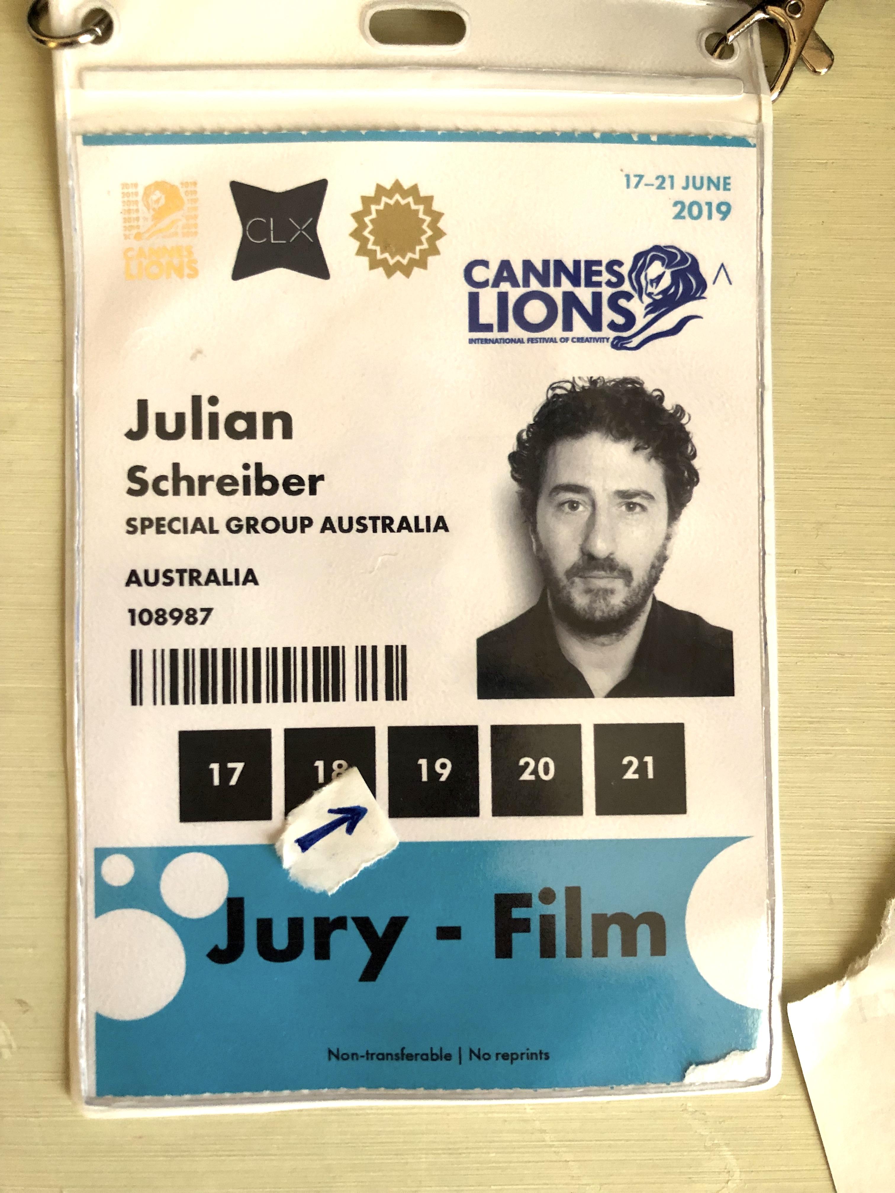 Julian Schreiber's Cannes Diary #3