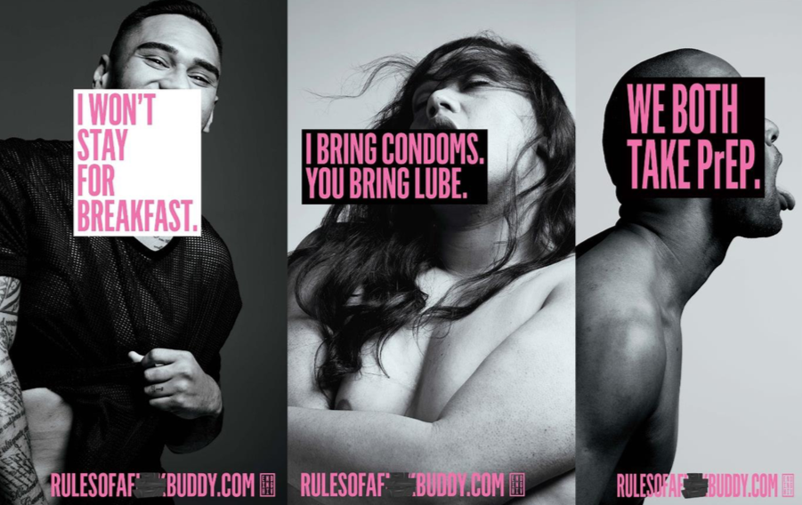 User-generated content campaign via DDB NZ talks to f***buddies to end HIV transmission