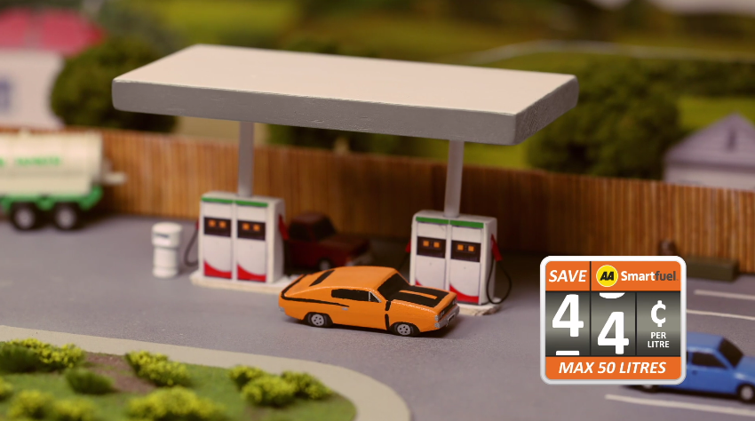 AA Smartfuel revs things up in newly launched stop-motion TV campaign via Rainger and Rolfe