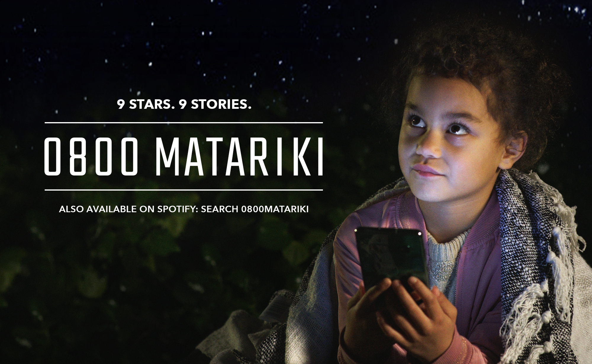 Spark brings the stories of Māori New Year to NZ with launch of 0800 MATARIKI via Colenso BBDO