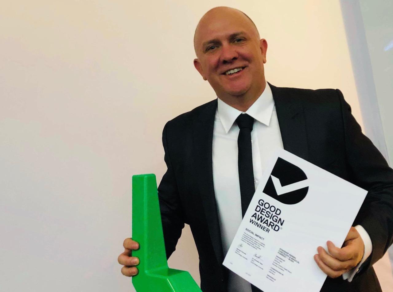 Auckland-based design tech studio RUSH recognised at Good Design Awards in Sydney