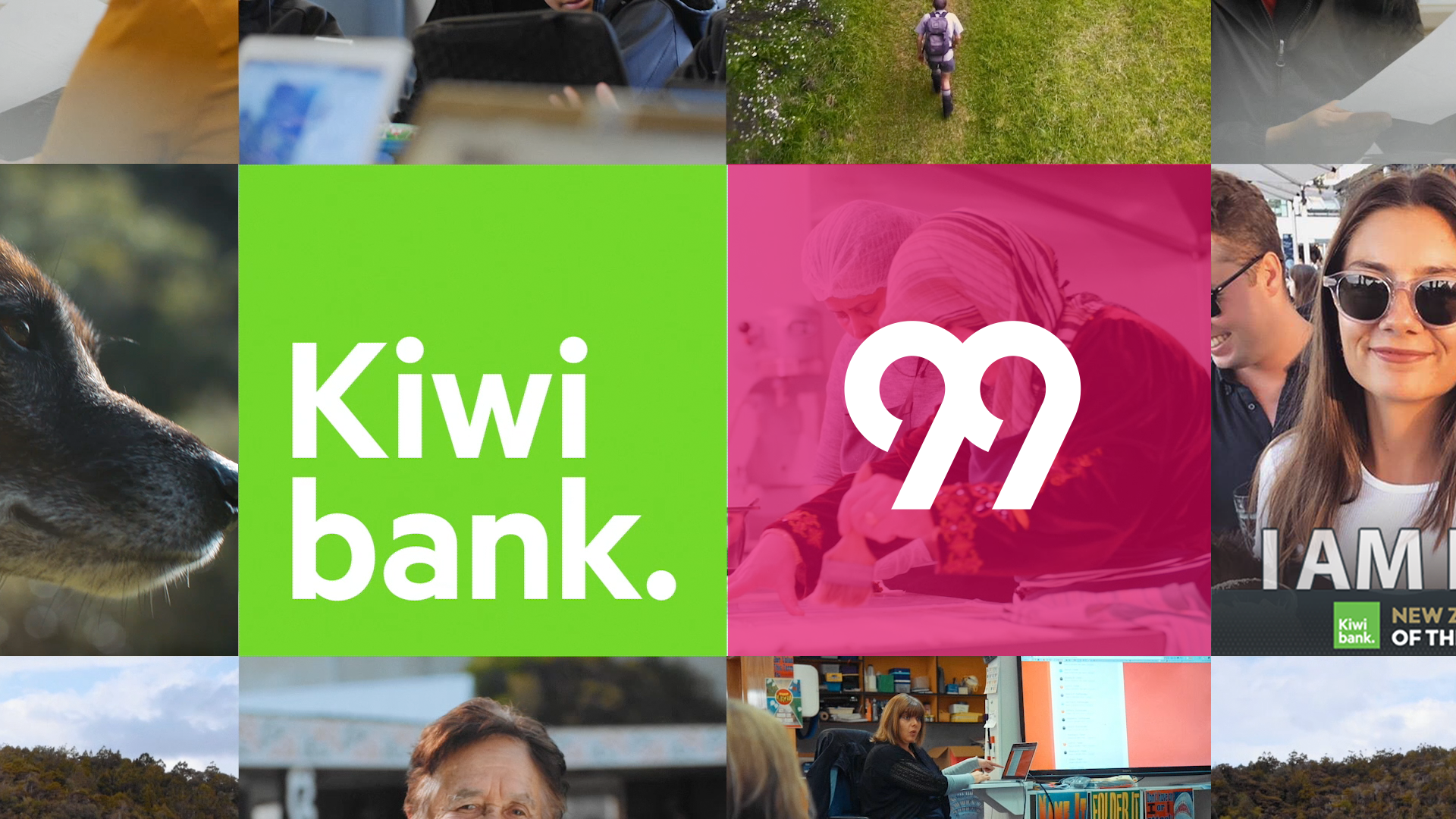 Kiwibank appoints 99 as new lead strategic and creative agency following a competitive pitch