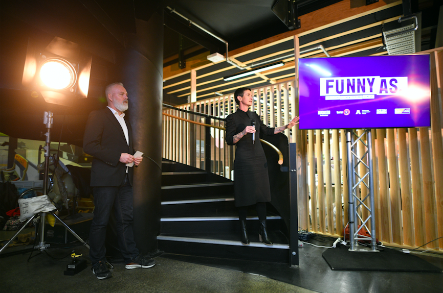 Augusto Entertainment set to launch new 'Funny As: the story of New Zealand comedy' docu-series