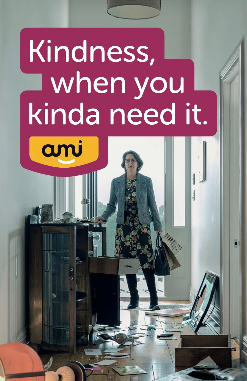 Kindness makes a difference in AMI Insurance's latest brand platform via Colenso BBDO, NZ
