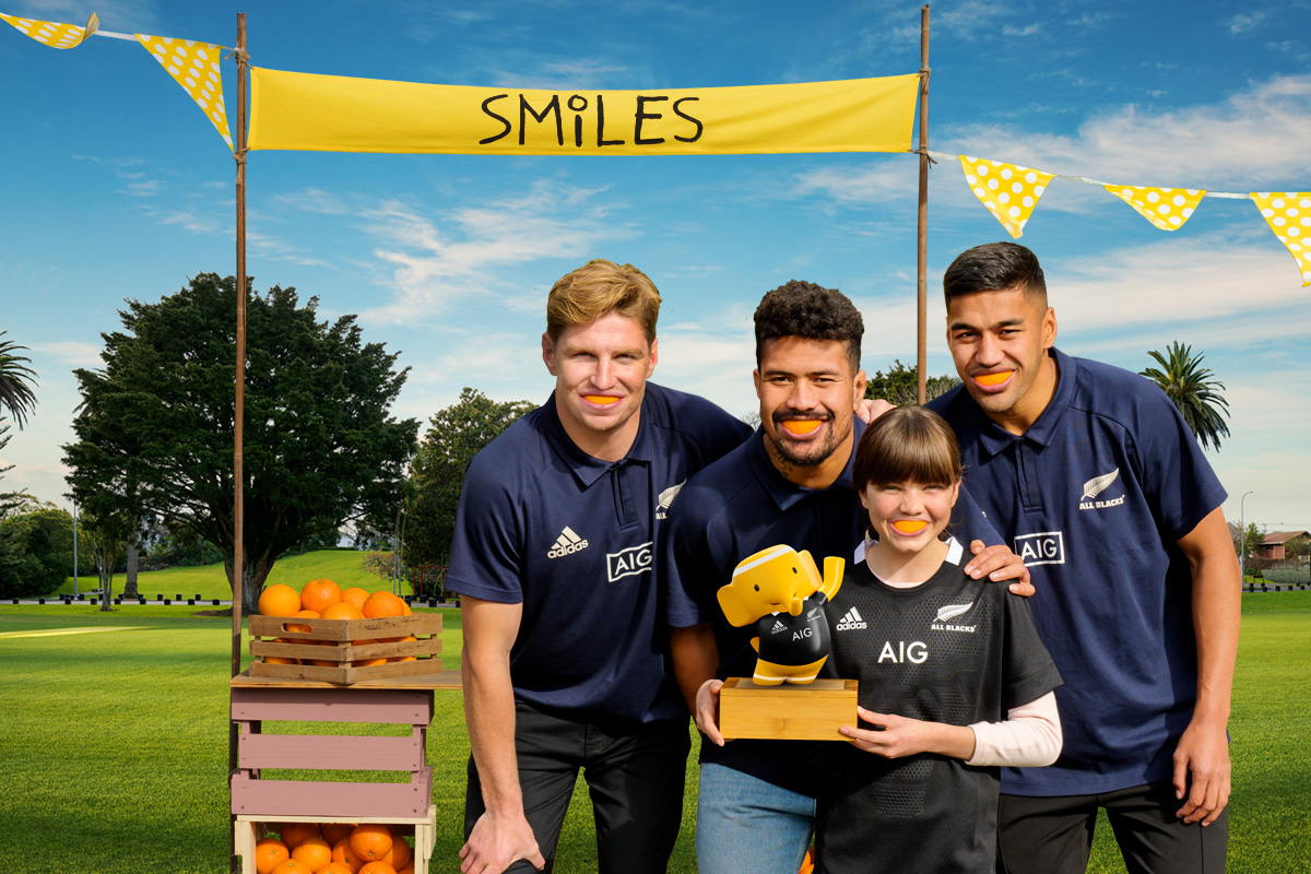 ASB celebrates financial literacy and All Blacks sponsorship in new 'Smiles' campaign via True
