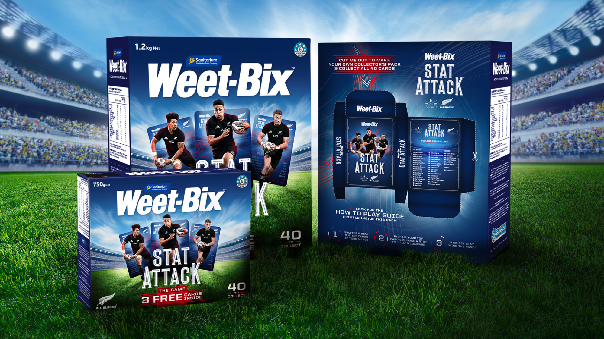 Sanitarium and Raydar bring back collectable card game sensation Weet-Bix Stat Attack