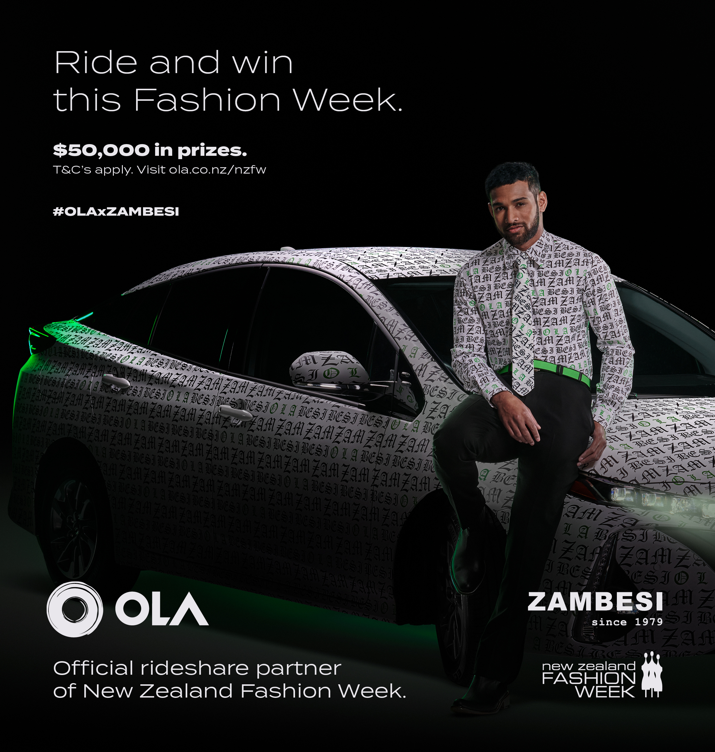 Rideshare newcomer Ola launches fashionable partnerships with new campaign via CRAVE
