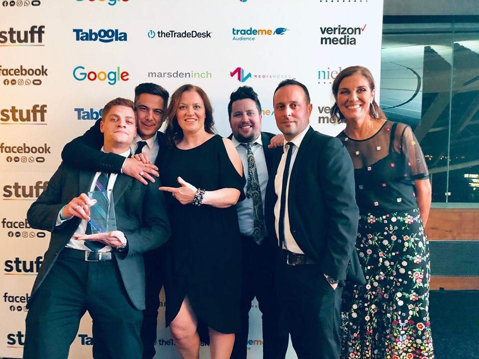 MBM crowned Agency of the Year at the 2019 IAB New Zealand Digital Advertising Awards