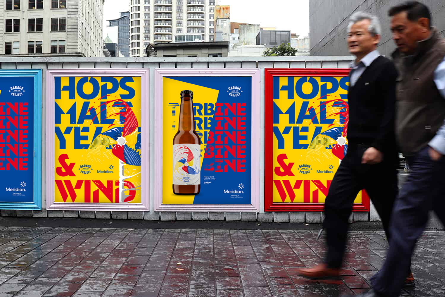 Hold on to your hat: Meridian and Garage Project celebrate partnership with a new wind-based beer and campaign launch via BC&F Dentsu