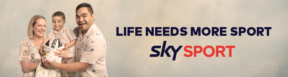 Sky TV ups the ante on its 'Life Needs More Sport' campaign with new TVCs and OOH work via DDB NZ