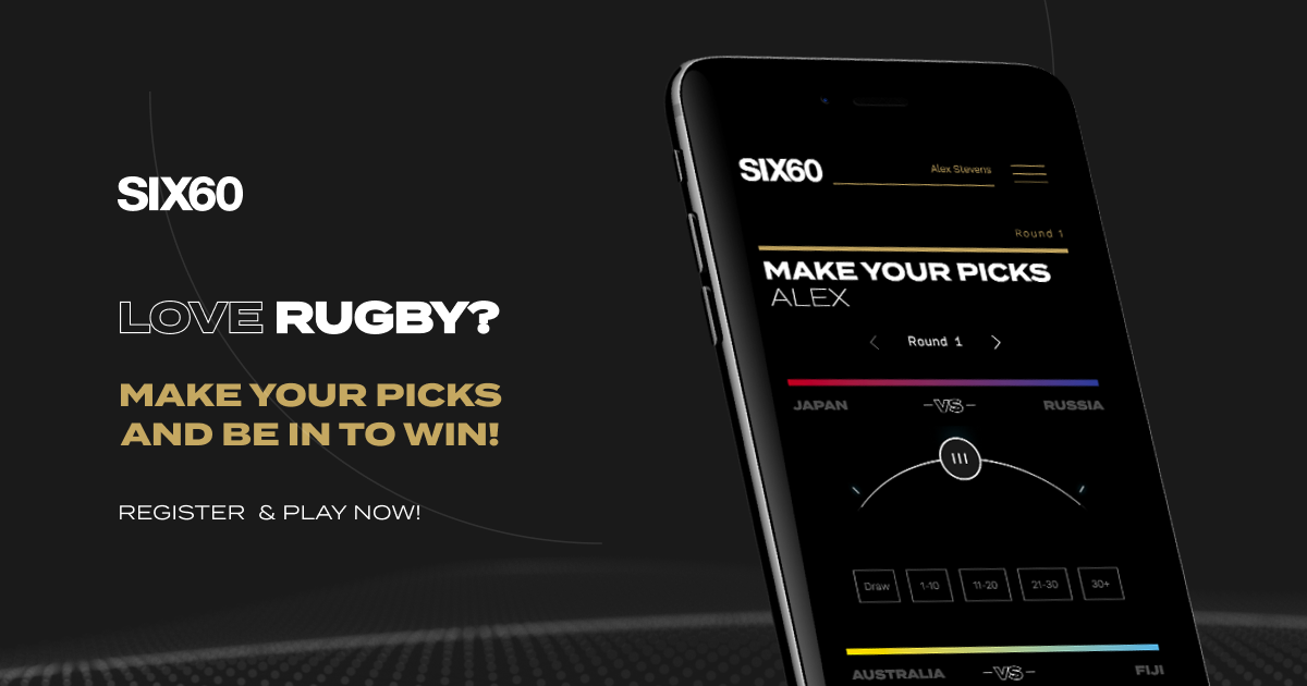 NZ band SIX60 launches 'Pick & Go' sports tipping platform for rugby fans via Journey Digital