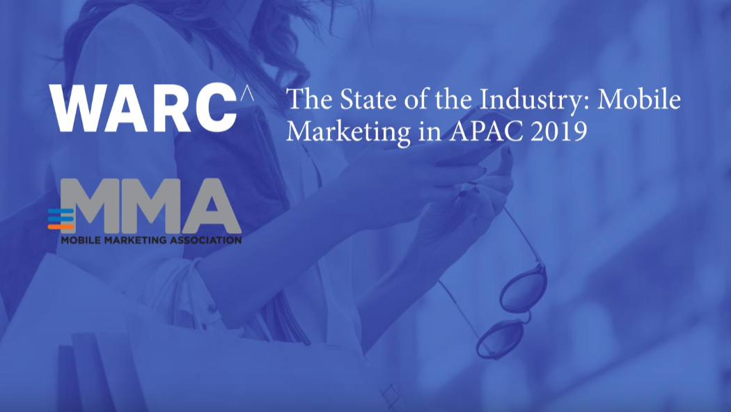 WARC Report: The impact of Mobile remains a disruptive force for Asia-Pacific marketers