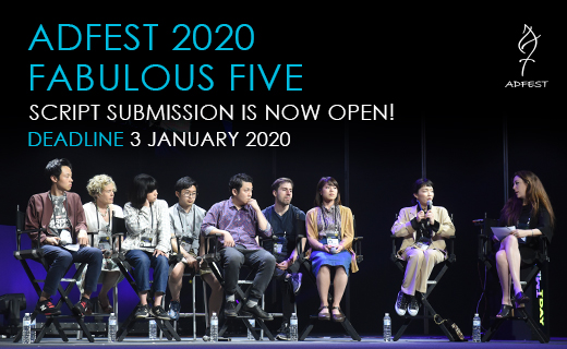 Kick-start your filmmaking career: Submit your script to AdFest's Fabulous Five 2020 Program