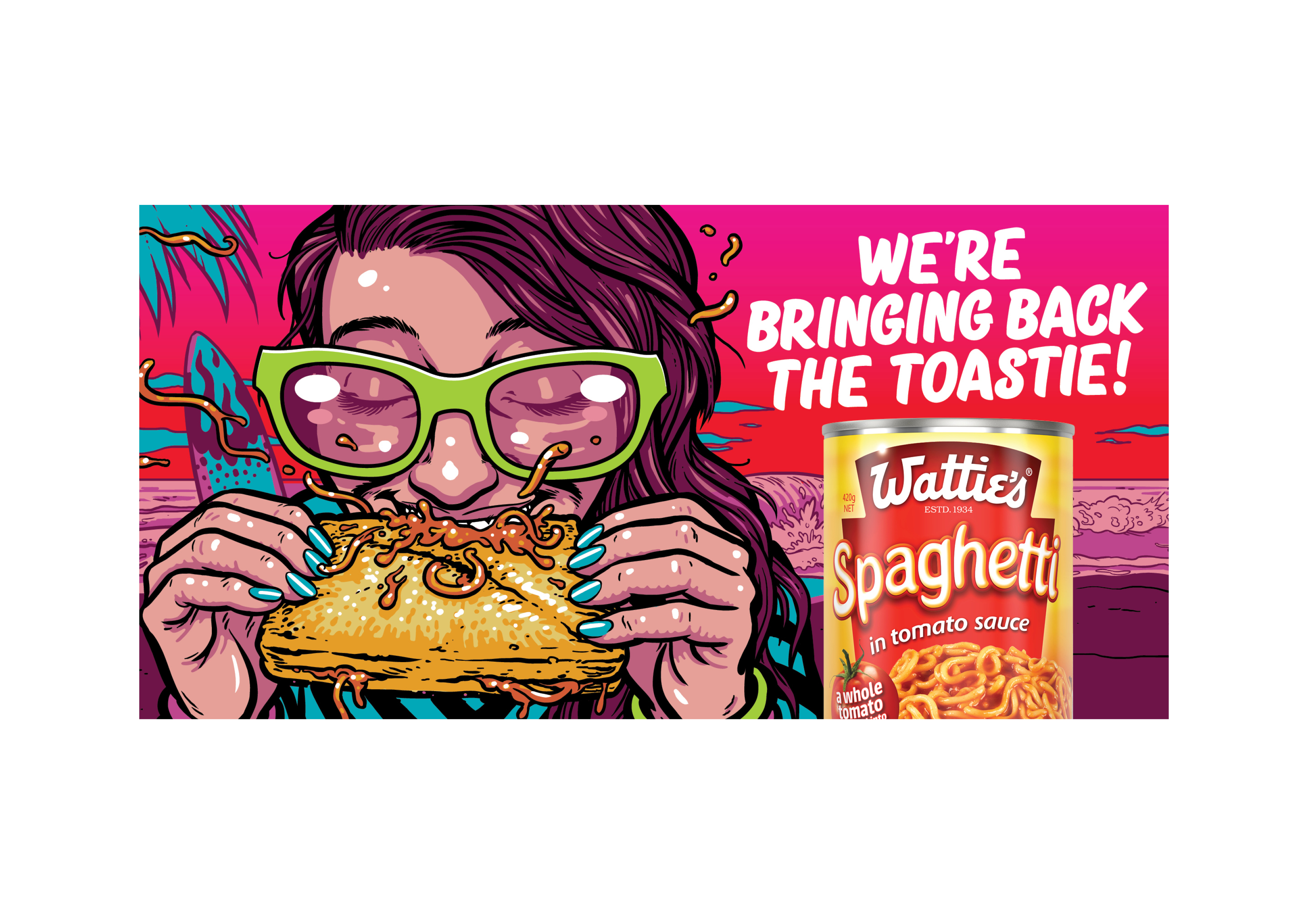 Wattie's and The Business Marketing Group re-introduce the toastie to new generation of Kiwis