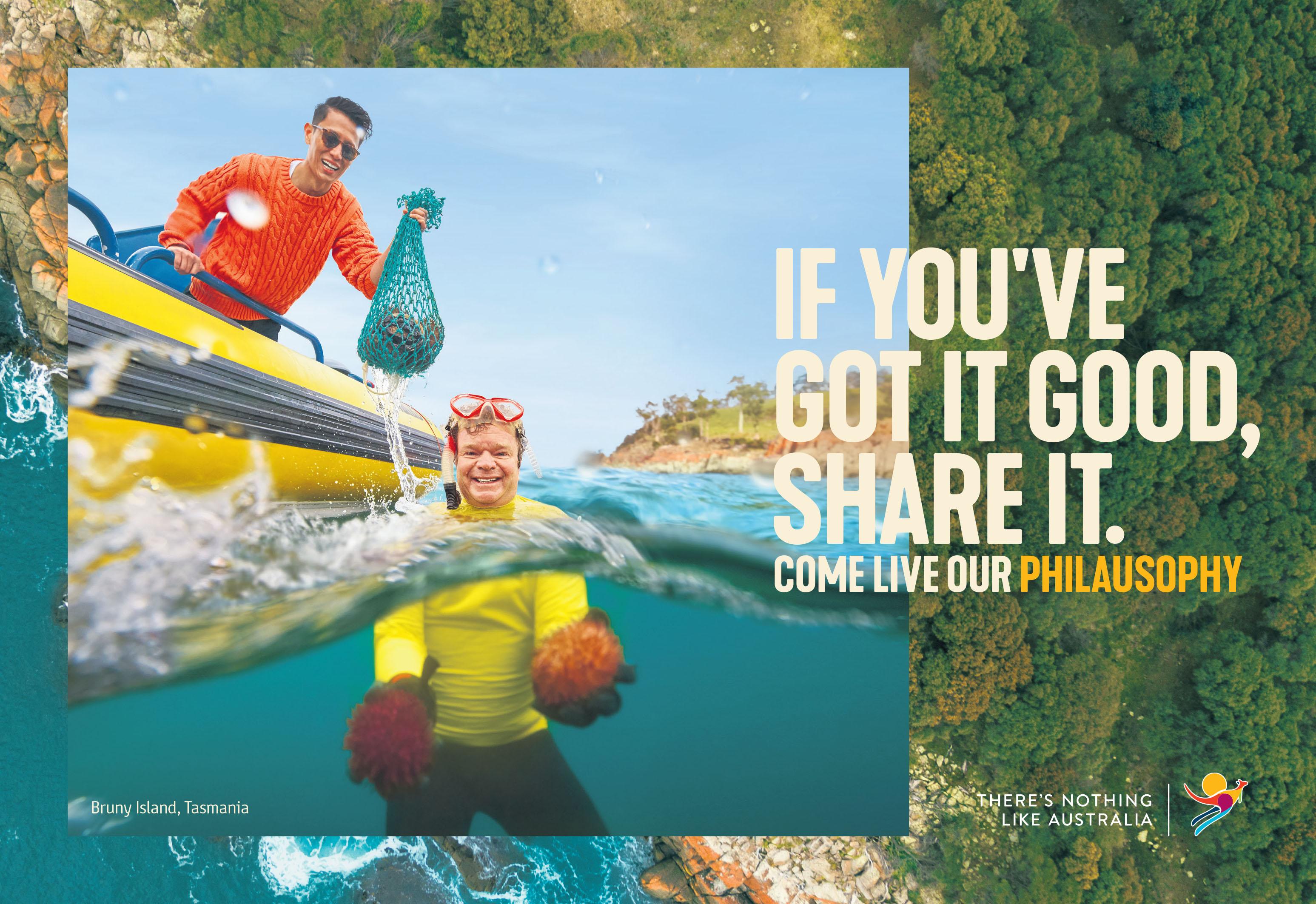 Tourism Australia invites the world to come and live Australia's Philausophy in major global campaign via M&C Saatchi Sydney, Digitas and UM