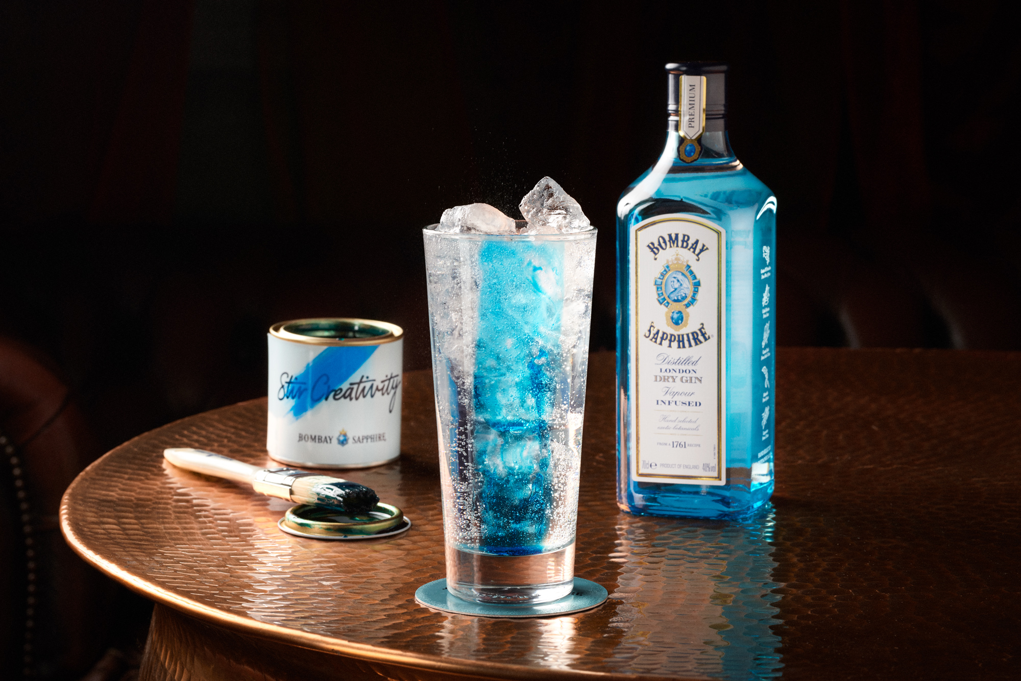 Bombay Sapphire to paint the town blue this Summer with new campaign via Crave Global