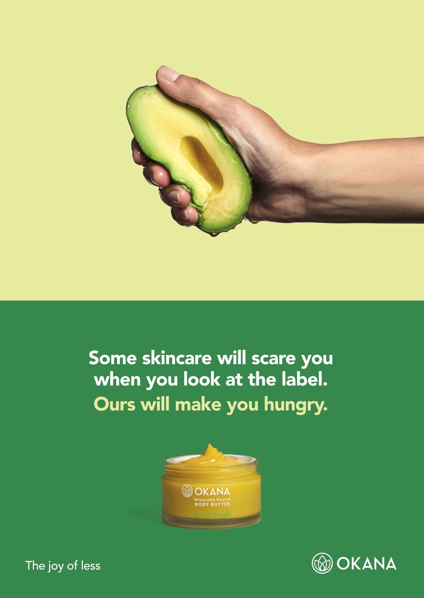 Kiwi natural skincare brand Okana launches new 'The Joy of Less' campaign via Saatchi & Saatchi