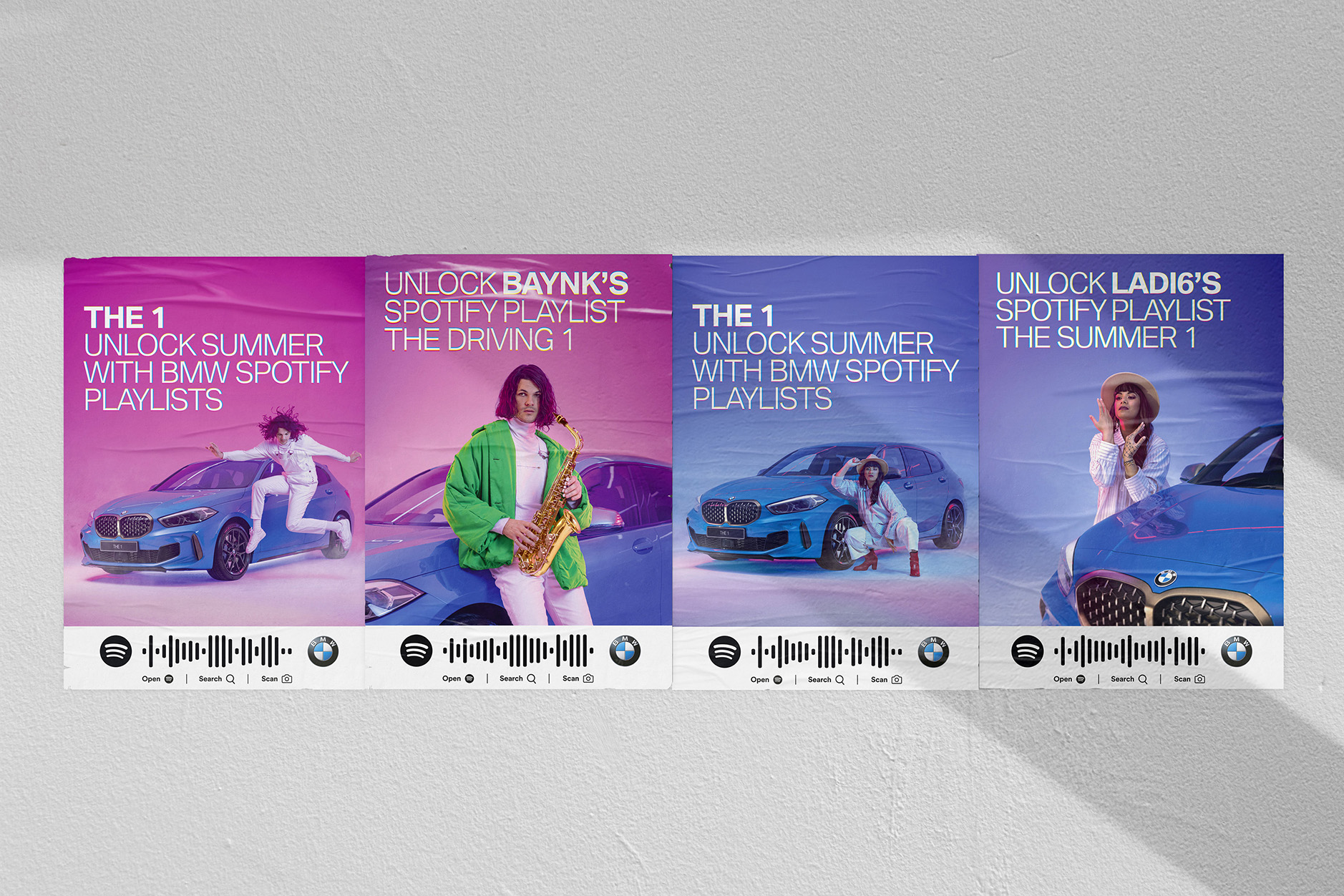 BMW collab with Spotify, Ladi6 + BAYNK to unlock summer driving music for Kiwis via Colenso BBDO