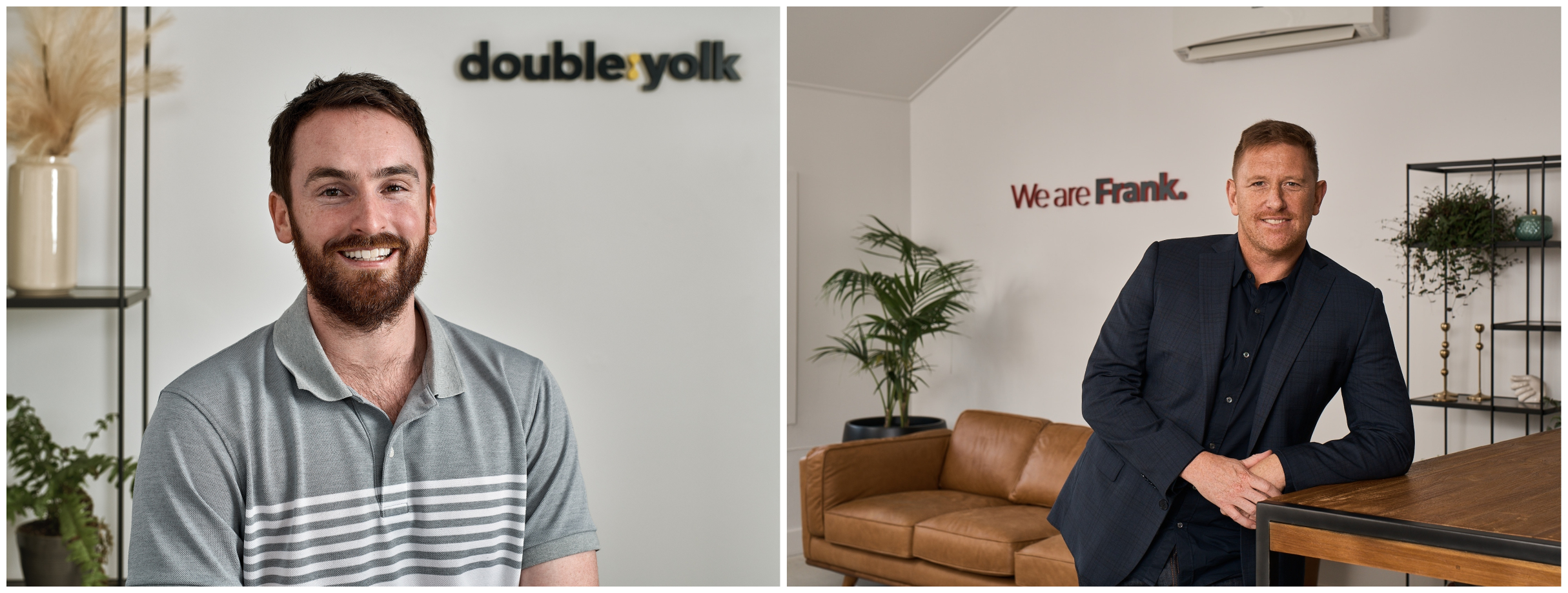 We Are Frank's Benjamin Searancke purchases stake in software solutions company Double Yolk