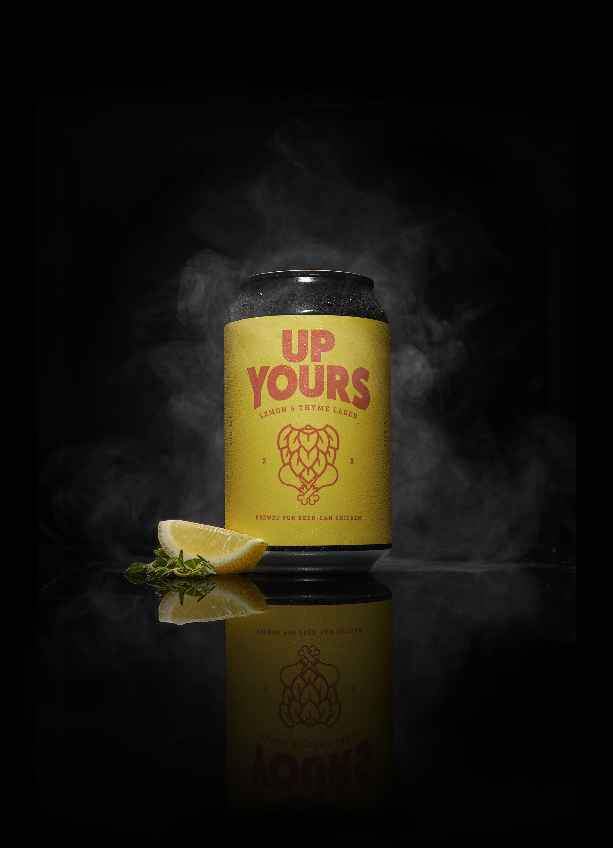 BC&F Dentsu launches Up Yours! ~ the first beer brewed for beer-can chicken