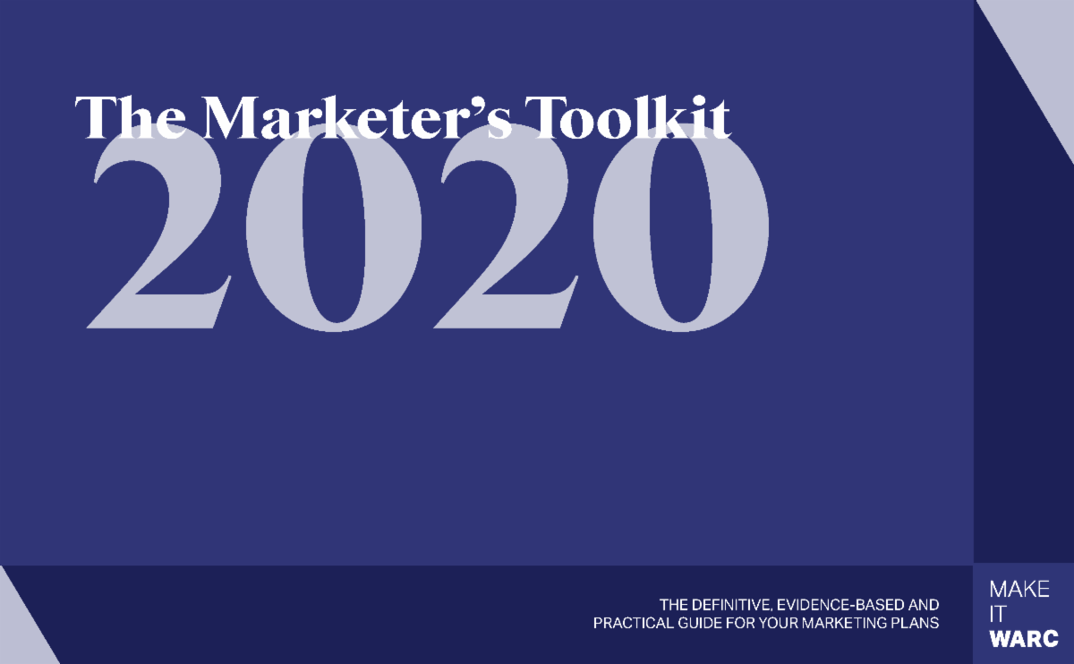 WARC Marketer's Toolkit 2020: The pivot back to brand