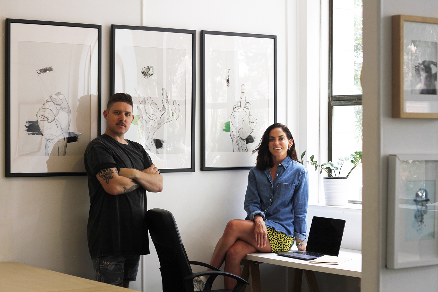 Abel and open for business: Nicole Hetherington and Simon Fowler officially launch creative consultancy