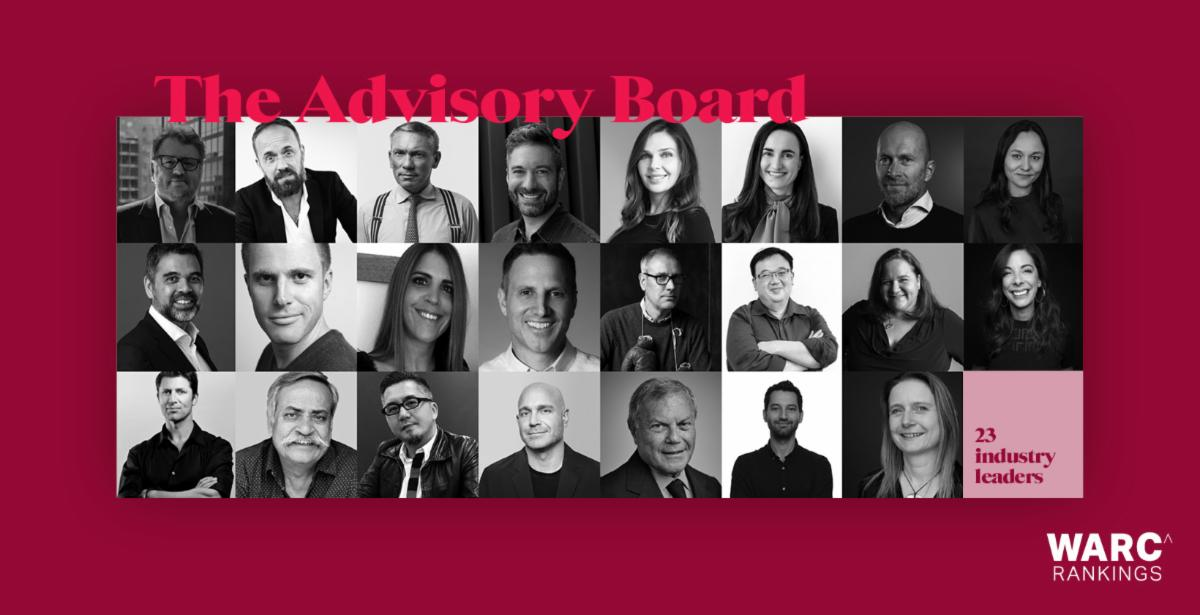 WARC introduces Advisory Board and awards shows tracked for WARC Rankings 2020