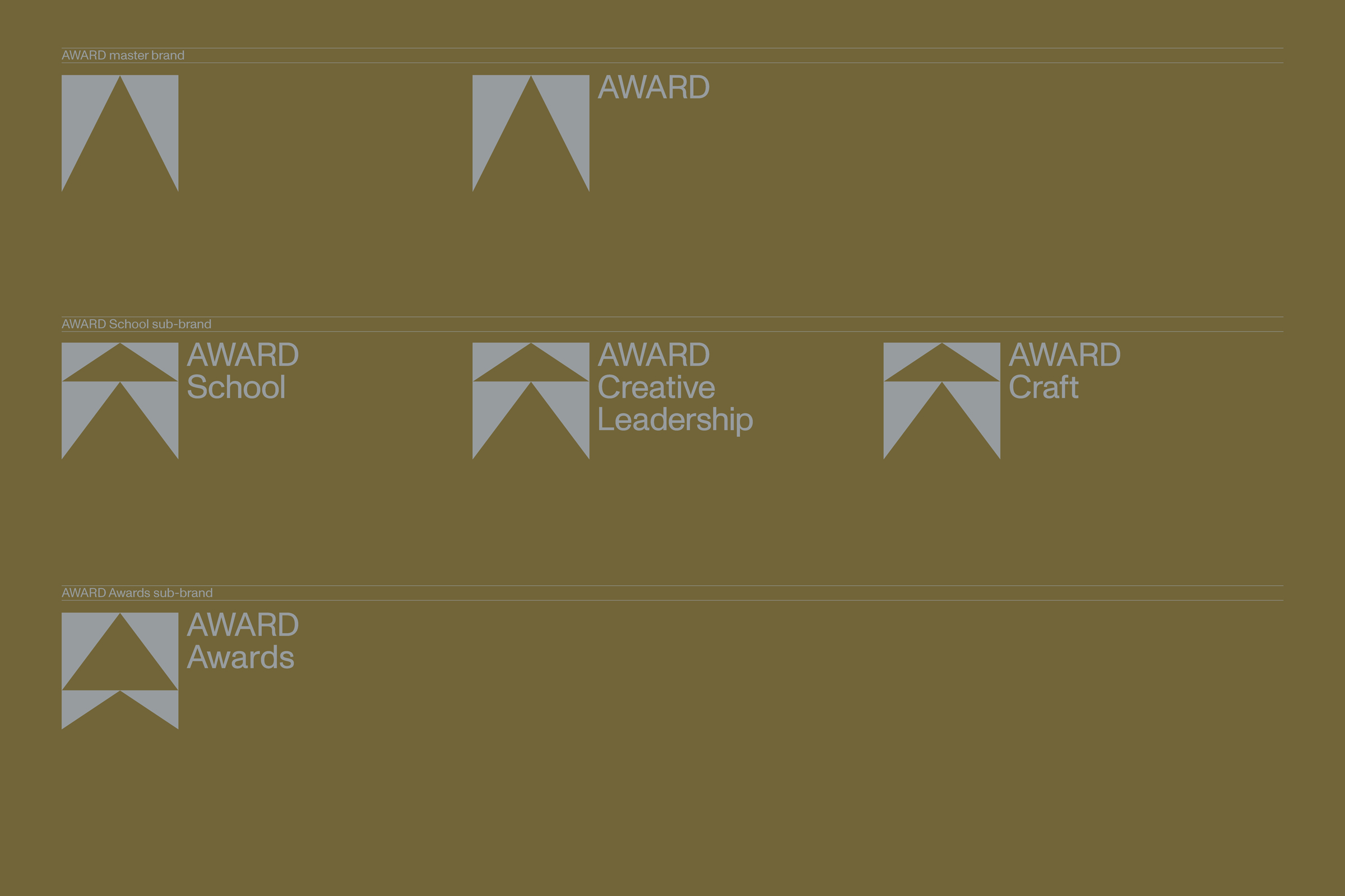 The pointy end of creativity: AWARD points to the future with unveiling of new brand identity