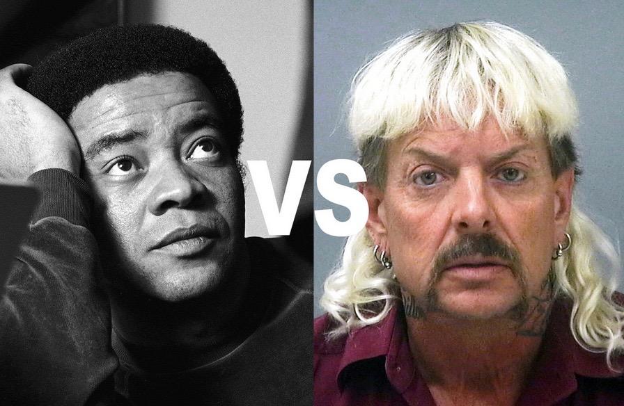 Damon Stapleton: Creativity. Bill Withers vs Joe Exotic.