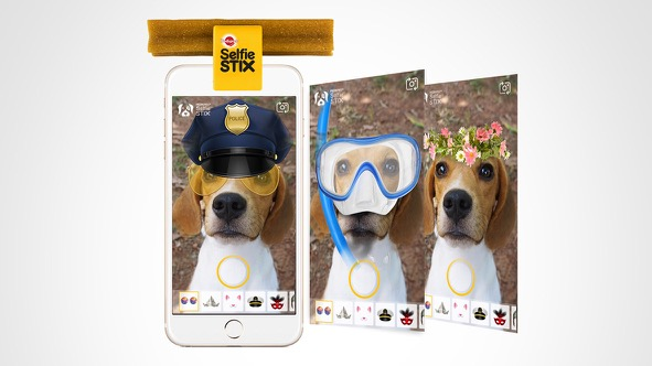 Colenso BBDO's SelfieSTIX campaign for Pedigree picks up two wins at 2020 Effie Awards US