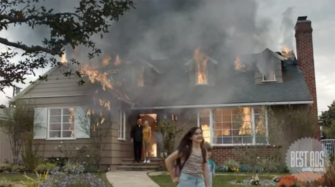 Best Ad of the Day: Fridays For Future 'Our House is on Fire' via FF LA