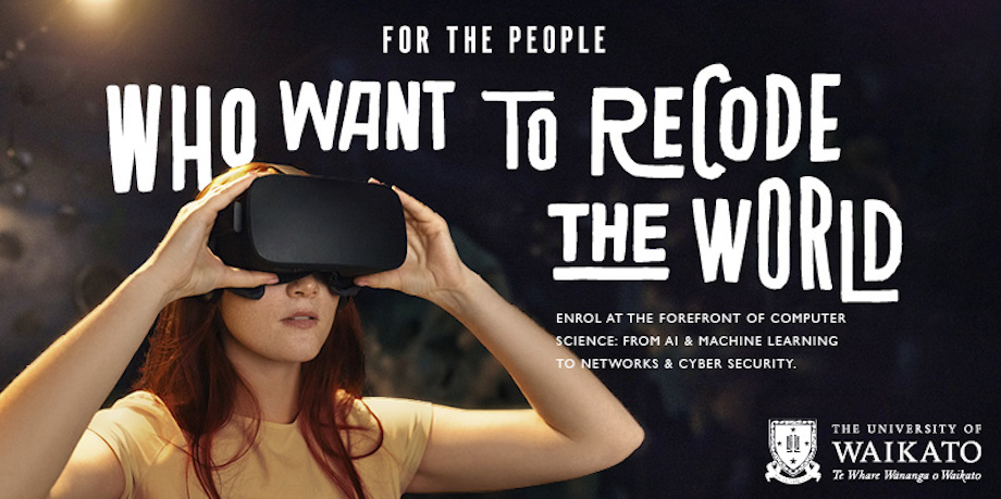 University of Waikato launches new student recruitment campaign via Special Group