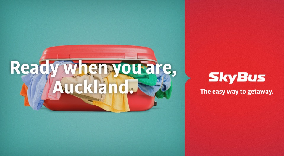 SkyBus welcomes back NZ travellers with 'The Easy Way to Getaway' campaign via Hardhat