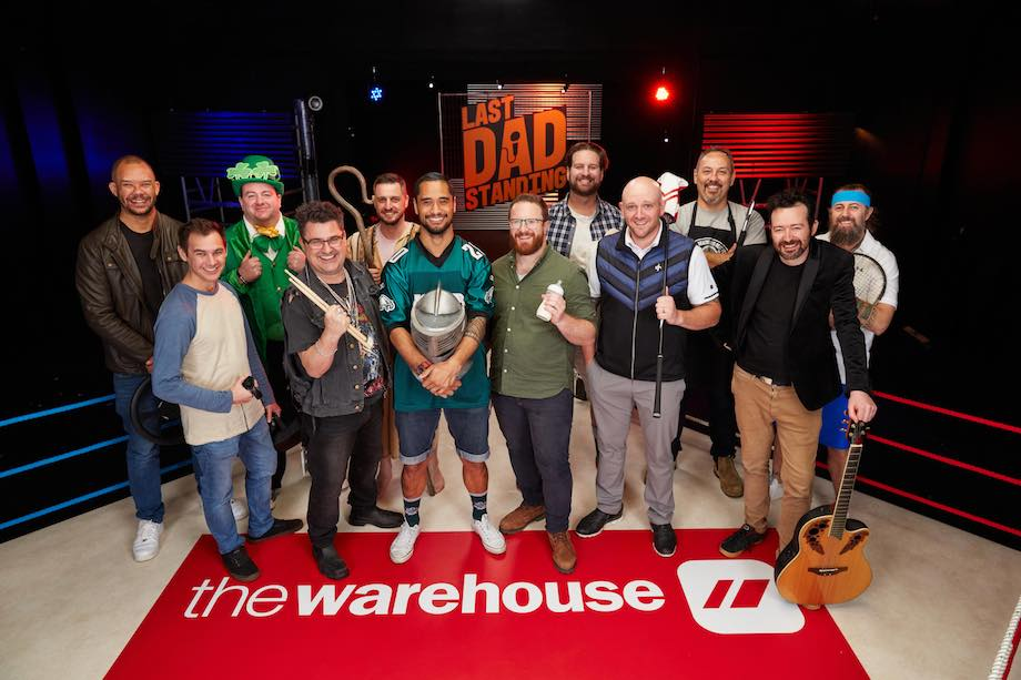 The Warehouse launches prime time TV series 'Last Dad Standing' with Warner Bros. NZ to celebrate Father's Day via TBWAMake