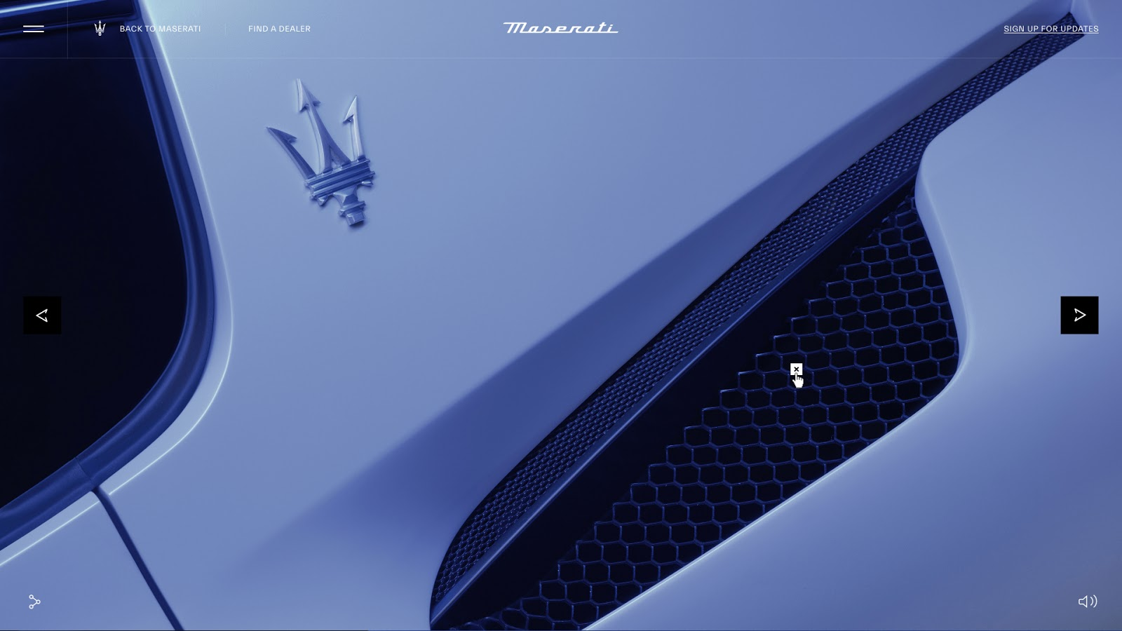 Maserati premieres MC20 Supercar with online product launch platform 'Toast' via Resn
