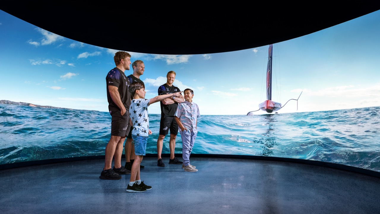 Shine launches Spark's World Class Emirates Team New Zealand America's Cup activation experience – The Spark 5G Race Zone