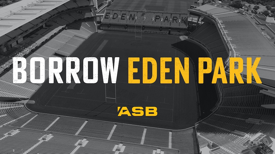 History made, ASB gifts naming rights to Eden Park for this Sunday's Bledisloe Test to a Fish and Chip shop from Kaikōura via WiTH Collective
