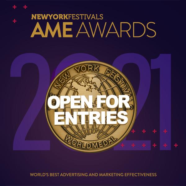 New York Festivals 2021 AME Awards now open for entries; deadline Thursday, 11 February, 2021