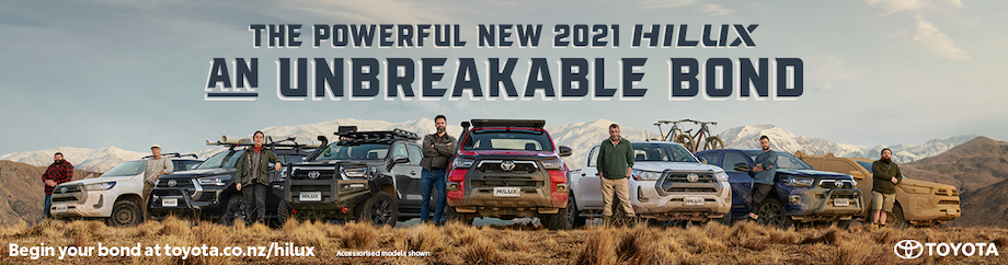 Toyota celebrates its unbreakable bond with Kiwis in 2021 Hilux campaign via Saatchi & Saatchi