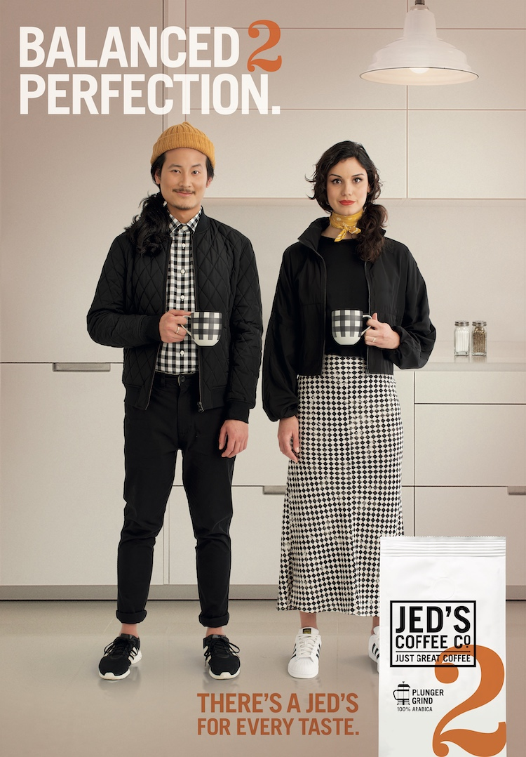 Spid Pye's Jed's Coffee Campaign has been selected for Lurzers Archive Vol. 3+4 2020