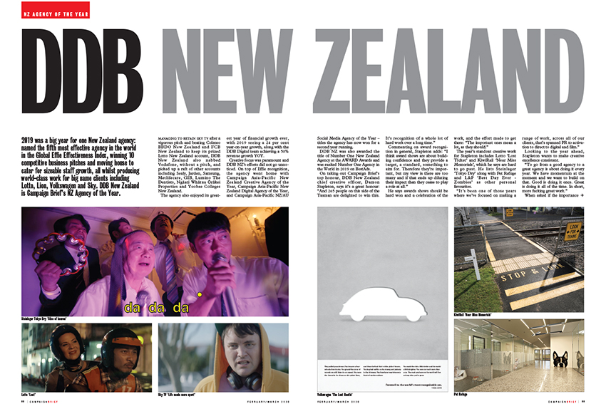 Campaign Brief New Zealand Advertising Agency of the Decade: Who were the top contenders?