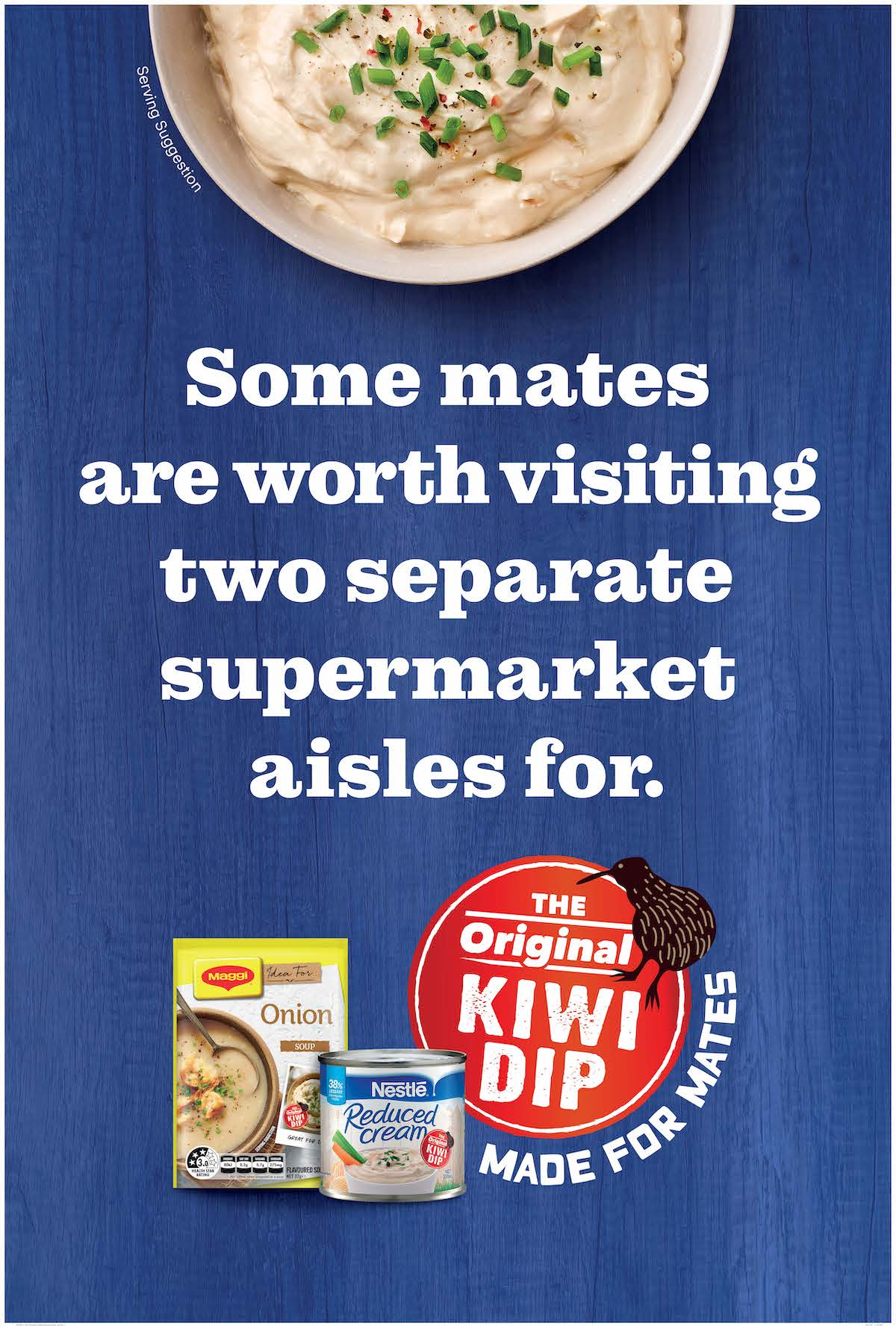 Nestlé and Original Kiwi Dip introduce 'Dipcoms' in latest campaign via Saatchi & Saatchi NZ
