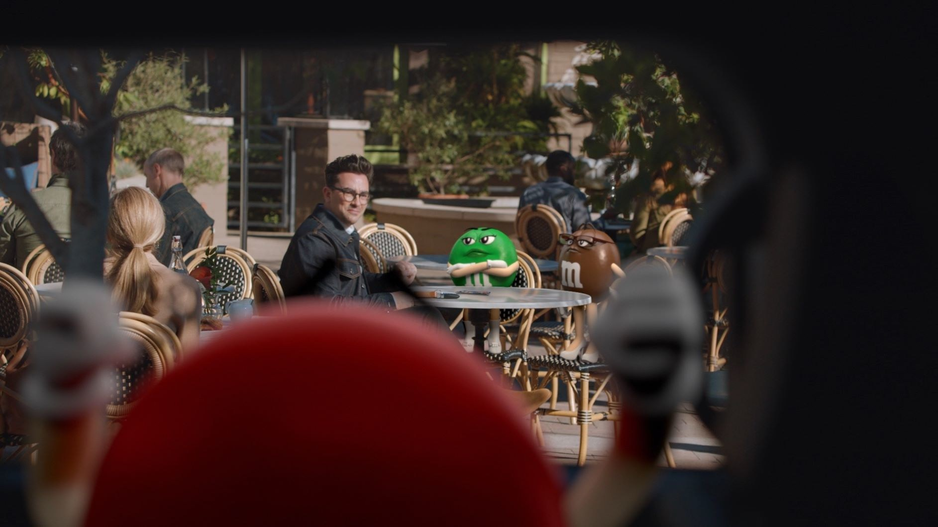 M&M's seeks to make people smile in new Super Bowl ad featuring Dan Levy via BBDO New York