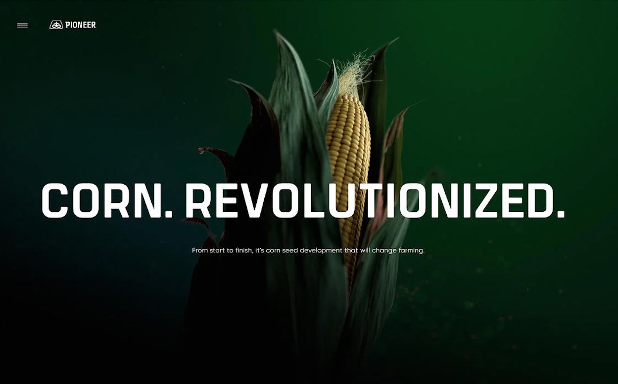 Resn and Bader Rutter Win Awwwards Site of the Year for 'Pioneer – Corn Revolutionized'