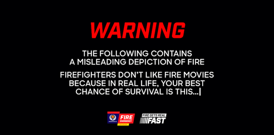 Fire and Emergency New Zealand launches new 'Firefighters Don't Like Fire Movies' campaign to promote smoke alarms via FCB NZ