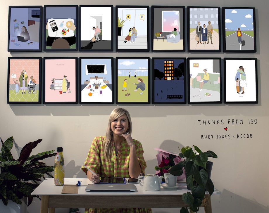 Accor Hotels 'Thanks From Iso' Campaign Earns Spot in the Beehive