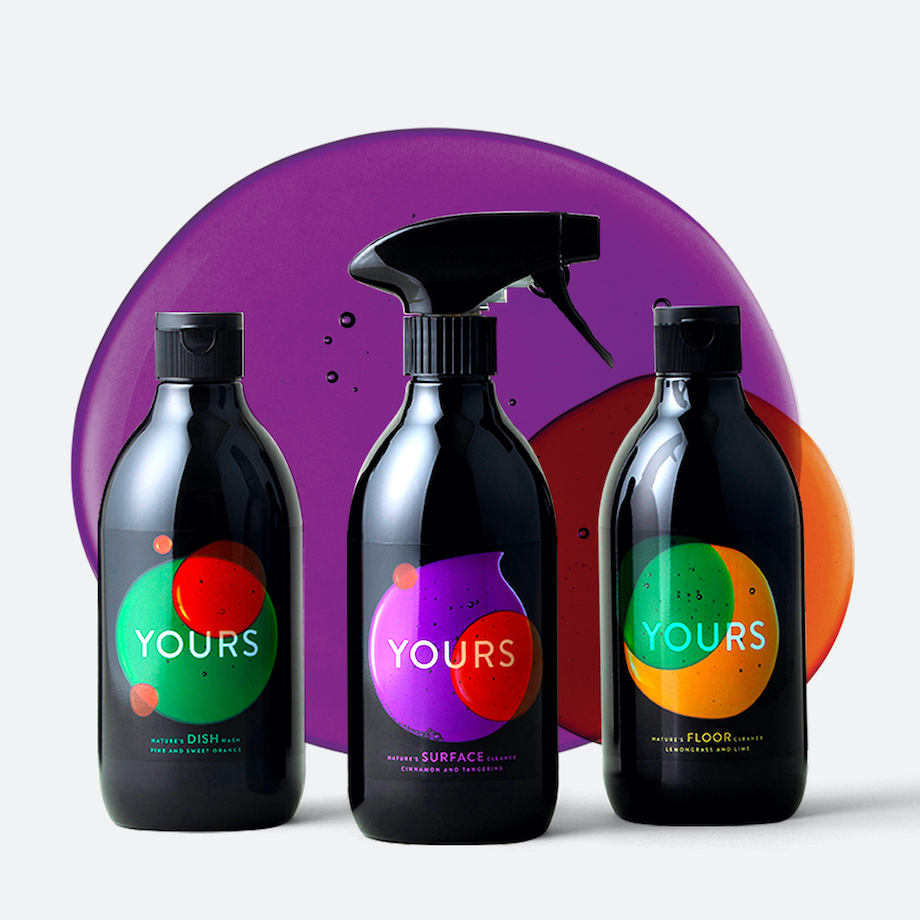 New sustainable cleaning + beauty brand YOURS partners with TBWA/NZ for brand launch