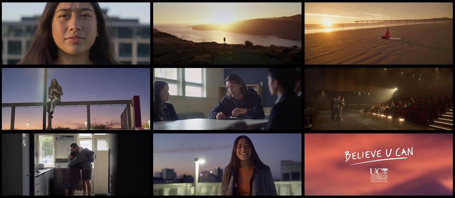 University of Canterbury inspires self-belief in 'Believe U Can' film via Strategy Christchurch