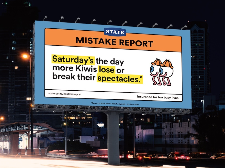 State reveals mistake-prone days of the week in latest campaign via Colenso BBDO