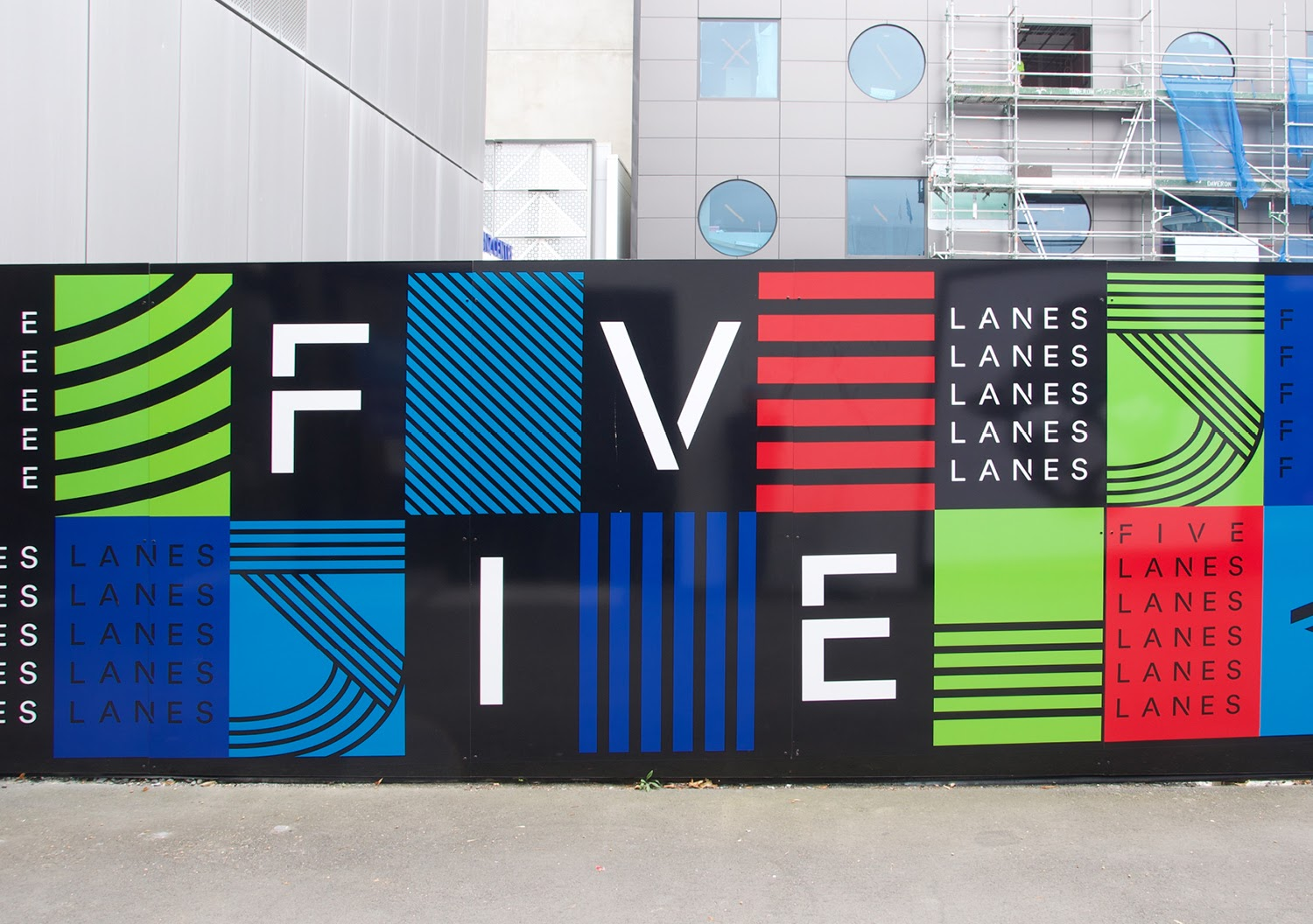 Strategy Christchurch brings 'Five Lanes' to life with bold brand identity